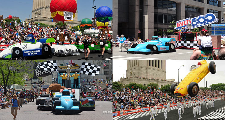 Indy 500 Parade Route Tickets