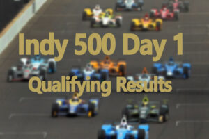 Indy 500 Day 1 Qualifying Results